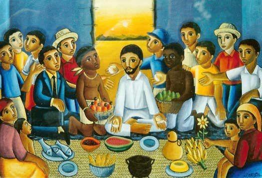 Teilen. Essen. Feiern. Agape-Gottesdienst